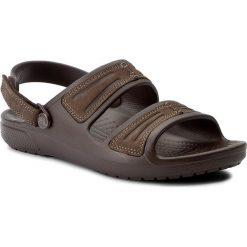 Sandały męskie: Sandały CROCS – Yukon Mesa Sandal M 203968  Espresso/Espresso