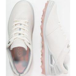 Buty sportowe damskie: ecco CAGE PRO Obuwie do golfa white/silver/pink