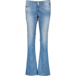 """Dżinsy """"Luz"""" - Skinny fit - w kolorze błękitnym. Niebieskie jeansy damskie bootcut marki bonprix. W wyprzedaży za 208,95 zł."""