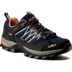 Trekkingi CMP - Rigel Low Wmn Trekking Shoes Wp 3Q54456 B.Blue/Giada/Peach 92AD. Niebieskie buty trekkingowe damskie CMP. W wyprzedaży za 249,00 zł.