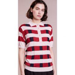 Swetry klasyczne damskie: 81hours Studio Sweter dusty/red/navy