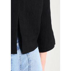 Bluzki asymetryczne: Tiger of Sweden Jeans YONDER Bluzka black