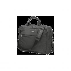 Torba na laptopa Trust Lyon Carry 17.3''. Brązowe torby na laptopa TRUST, w paski, z materiału. Za 109,99 zł.