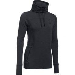 Bluzy sportowe damskie: Under Armour Bluza damska Featherweight Fleece Slouchy czarny r.XS (1293020-002)