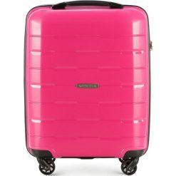 Walizka kabinowa 56-3T-721-77. Czerwone walizki marki Wittchen, z gumy, małe. Za 199,00 zł.