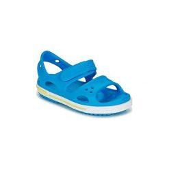 Sandały Dziecko  Crocs  Crocband II Sandal PS. Niebieskie sandały chłopięce marki Crocs. Za 90,30 zł.