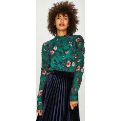 Vero Moda - Bluzka Karen. Czarne bluzki z odkrytymi ramionami marki Vero Moda, l, z poliesteru, casualowe, ze stójką. Za 129,90 zł.
