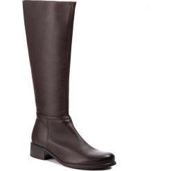 Oficerki LASOCKI - 8484-01 Brązowy. Brązowe buty zimowe damskie Lasocki, ze skóry, przed kolano, na wysokim obcasie. Za 349,99 zł.