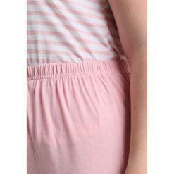 Piżamy damskie: Evans STRIPED LONG Piżama pink/white