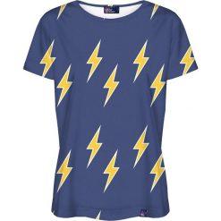 Colour Pleasure Koszulka damska CP-030 113 granatowa r. XL/XXL. Fioletowe bluzki damskie marki Colour pleasure, uniwersalny. Za 70,35 zł.