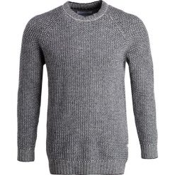 Swetry klasyczne męskie: Loreak CREWNECK BRITISH DUO Sweter navy/white