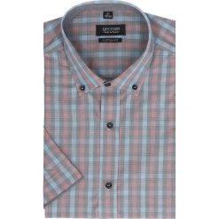Koszula bexley 2303 krótki rękaw custom fit czerwony. Szare koszule męskie na spinki marki Recman, m, z długim rękawem. Za 29,99 zł.