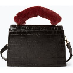 Inyati - Torebka damska – Olivia, czarny. Czarne torebki klasyczne damskie Inyati, ze skóry, z tłoczeniem. Za 279,95 zł.