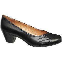 Buty ślubne damskie: czółenka damskie Medicus czarne