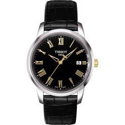 PROMOCJA ZEGAREK TISSOT T-CLASSIC T033.410.26.053.01. Czarne zegarki męskie TISSOT, ze stali. W wyprzedaży za 589,60 zł.