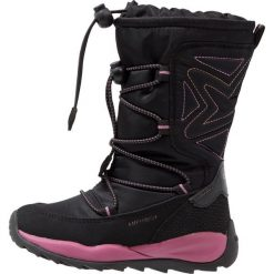 Buty zimowe damskie: Geox ORIZONT ABX Śniegowce black