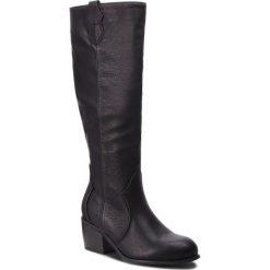 Kozaki JENNY FAIRY - WS16352-9 Czarny. Czarne buty zimowe damskie Jenny Fairy, ze skóry ekologicznej. Za 149,99 zł.