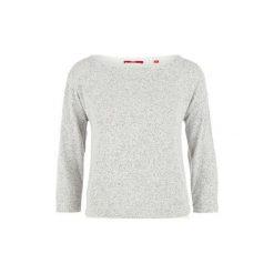 S.Oliver T-Shirt Damski 38 Szary. Szare t-shirty damskie marki S.Oliver, s, z dekoltem w łódkę. W wyprzedaży za 89,00 zł.