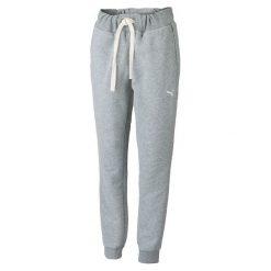 Puma Spodnie Dresowe Fun Graphic Sweat Pants Athletic Gray Heather S. Brązowe spodnie dresowe damskie Puma, s, z dresówki. W wyprzedaży za 159,00 zł.