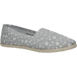 Szare buty tomsy espadryle Mckey DTN228/18GR. Szare tomsy damskie marki Mckey. Za 29,99 zł.