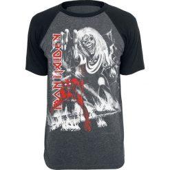 Iron Maiden NOTBBW T-Shirt ciemnoszary/czarny. Czarne t-shirty męskie z nadrukiem Iron Maiden, s, z dekoltem na plecach. Za 94,90 zł.