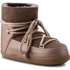 Buty INUIKII - Boot Classic 70101-7 Taupe. Brązowe buty zimowe damskie Inuikii, ze skóry. Za 1269,00 zł.