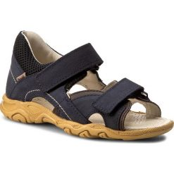 Sandały MRUGAŁA - Remi 1301-73 Sun. Niebieskie sandały męskie skórzane marki Mrugała. W wyprzedaży za 169,00 zł.