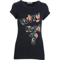 Bluzki, topy, tuniki: Czarny T-shirt Shadows of dreams