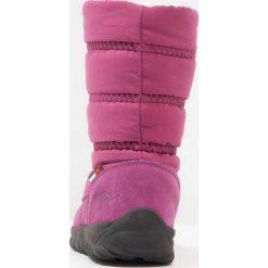 KangaROOS KFROST Śniegowce dark berry. Niebieskie buty zimowe chłopięce marki KangaROOS. W wyprzedaży za 164,45 zł.