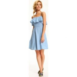 Sukienki hiszpanki: SUKIENKA DAMSKA NA RAMIĄCZKA ROZKLOSZOWANA