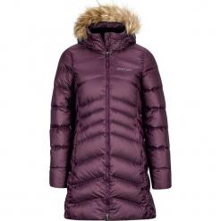 Płaszcz puchowy w kolorze ciemnoczerwonym. Szare płaszcze damskie puchowe marki bonprix. W wyprzedaży za 591,95 zł.