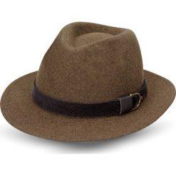 Kapelusz vernet brąz. Brązowe kapelusze męskie Recman. Za 139,00 zł.