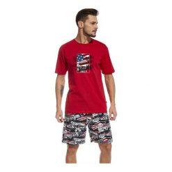 Piżama America 326/47. Niebieskie piżamy męskie marki Cornette. Za 94,90 zł.