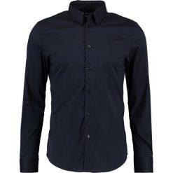 Koszule męskie na spinki: Sisley Koszula biznesowa navy