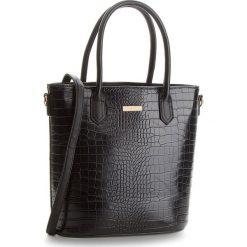 Torebka JENNY FAIRY - RC15134 Black. Czarne torebki klasyczne damskie marki Jenny Fairy, ze skóry ekologicznej. Za 99,99 zł.