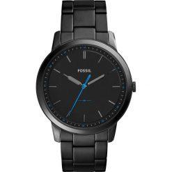 Zegarek FOSSIL - The Minimalist 3H FS5308 Black/Black. Różowe zegarki męskie marki Fossil, szklane. Za 569,00 zł.