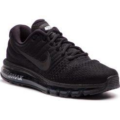 Buty NIKE - Air Max 2017 849559 004 Black/Black/Black. Czarne buty do biegania męskie Nike, z materiału, nike air max. W wyprzedaży za 599,00 zł.