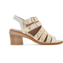 Rzymianki damskie: Sandały skórzane Genna