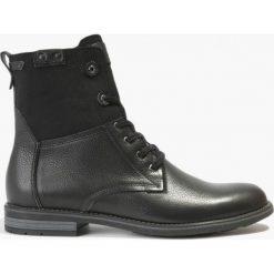 Kozaki czarne Romano. Czarne buty zimowe męskie Badura. Za 258,99 zł.
