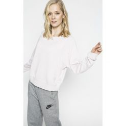 Nike Sportswear - Bluza. Szare bluzy damskie marki Nike Sportswear, l, z bawełny, bez kaptura. W wyprzedaży za 169,90 zł.