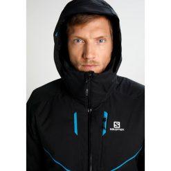 Salomon STORMRACE Kurtka snowboardowa black. Czarne kurtki narciarskie męskie Salomon, m, z materiału. W wyprzedaży za 991,20 zł.