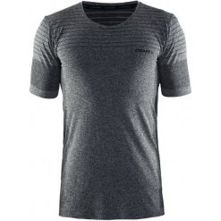 Odzież termoaktywna męska: Craft Koszulka Męska Cool Comfort Ss Czarna S