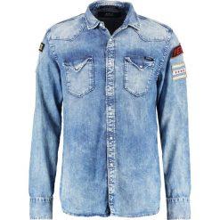 Replay Koszula blue denim. Zielone koszule męskie marki Replay, z bawełny. W wyprzedaży za 461,45 zł.