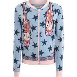 Desigual CHEJOV Bluza rozpinana blue. Różowe bluzy dziewczęce rozpinane marki Desigual. Za 249,00 zł.