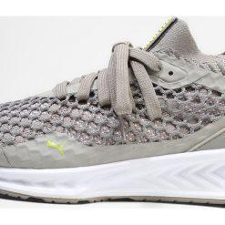 Buty sportowe damskie: Puma IGNITE NETFIT Obuwie do biegania treningowe rock ridge/lemon tonic