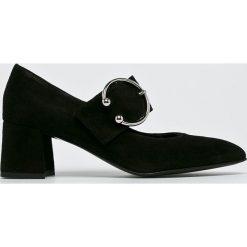 Gino Rossi - Czółenka. Szare buty ślubne damskie marki Gino Rossi, z materiału, na obcasie. W wyprzedaży za 179,90 zł.