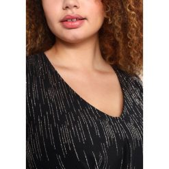 Długie sukienki: Dorothy Perkins Curve BILLIE WATERFALL DRESS Długa sukienka black/rose gold