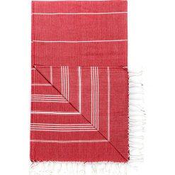 Kąpielówki męskie: Chusta hammam w kolorze czerwonym – 180 x 95 cm