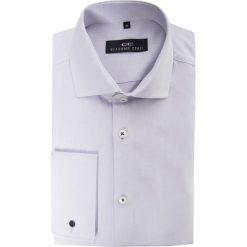 Koszula CARLO slim  14-06-30. Szare koszule męskie na spinki Giacomo Conti, m, z bawełny. Za 229,00 zł.