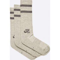 Nike Sportswear - Skarpety (3-pack). Różowe skarpetki męskie marki Nike Sportswear, l, z nylonu, z okrągłym kołnierzem. W wyprzedaży za 29,90 zł.